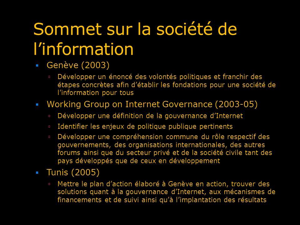 Sommet sur la société de l'information