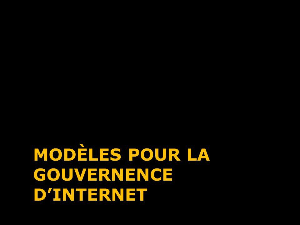 Modèles pour la Gouvernence d'Internet