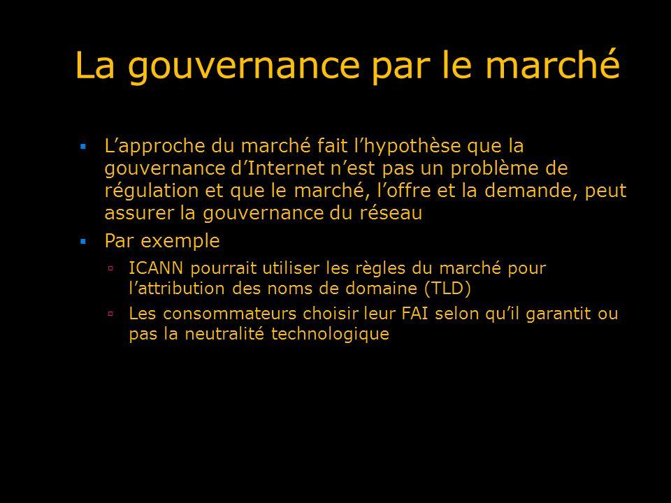 La gouvernance par le marché