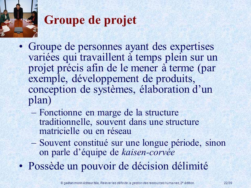 Groupe de projet