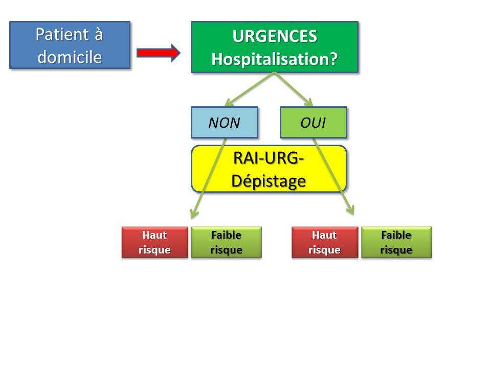 URGENCES Hospitalisation