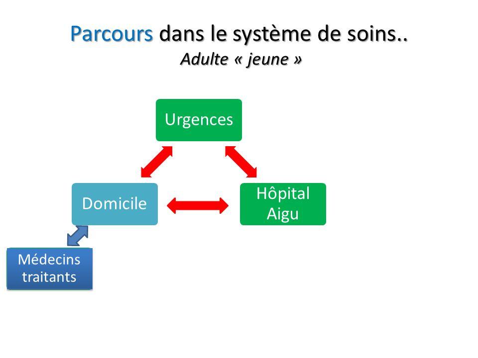 Parcours dans le système de soins..