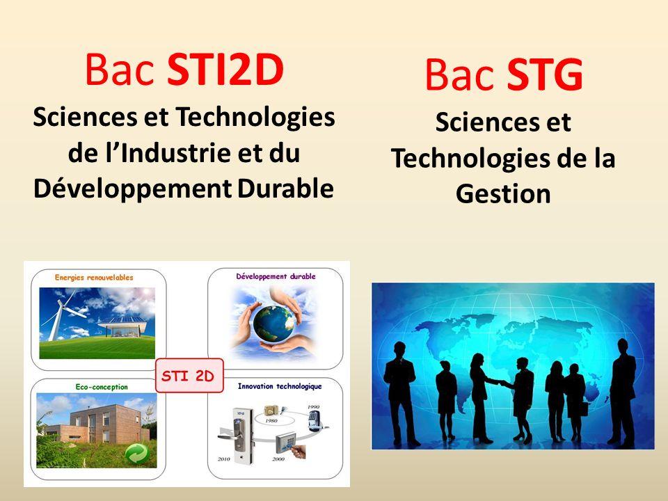 Sciences et Technologies Développement Durable