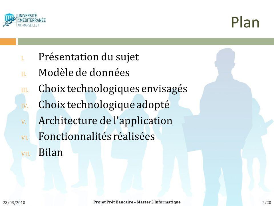 Projet Prêt Bancaire – Master 2 Informatique