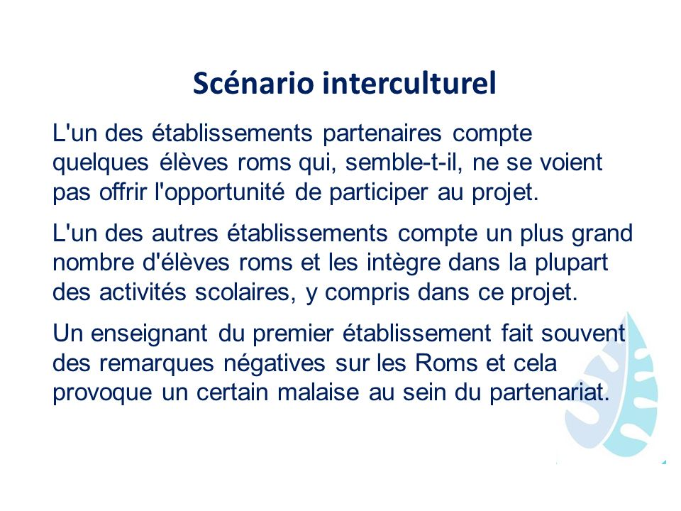 Scénario interculturel