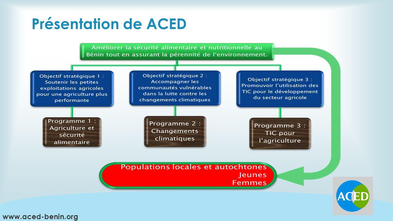 Présentation de ACED www.aced-benin.org