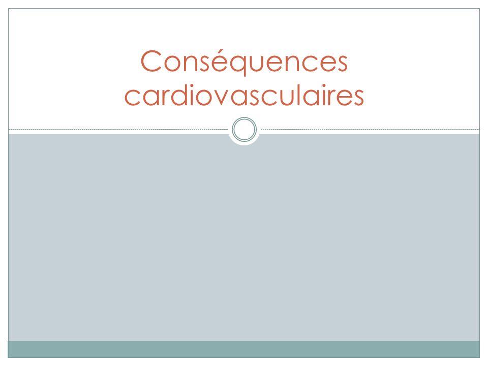Conséquences cardiovasculaires