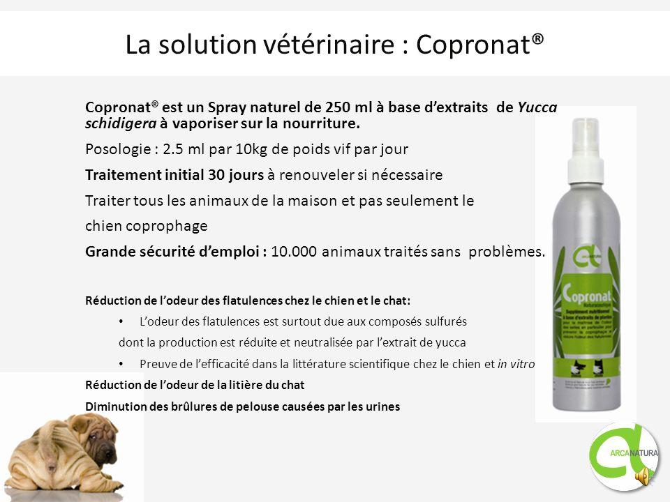 La solution vétérinaire : Copronat®