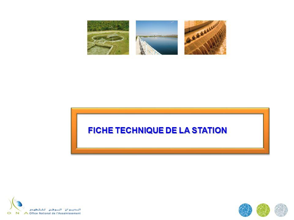 FICHE TECHNIQUE DE LA STATION