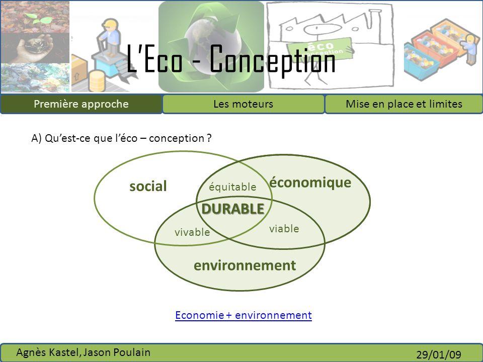 Economie + environnement