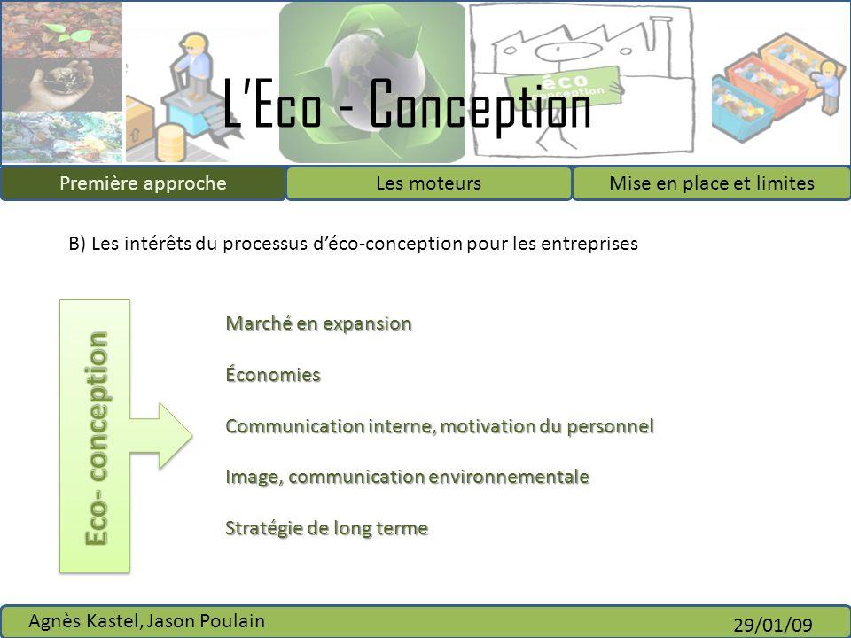 Eco- conception Première approche