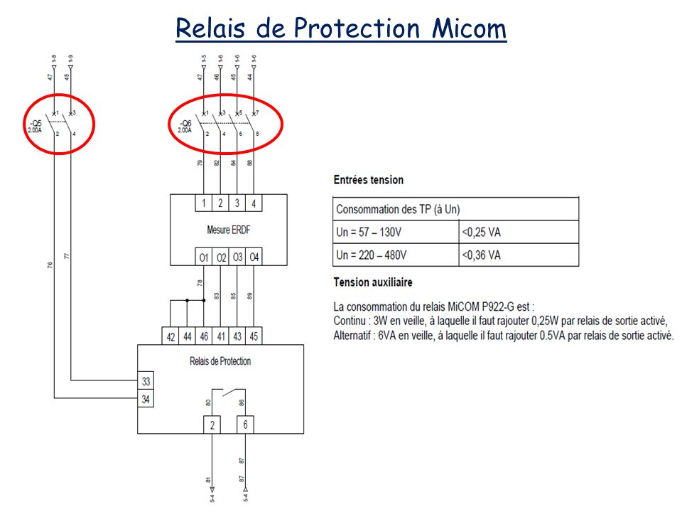 Relais de Protection Micom