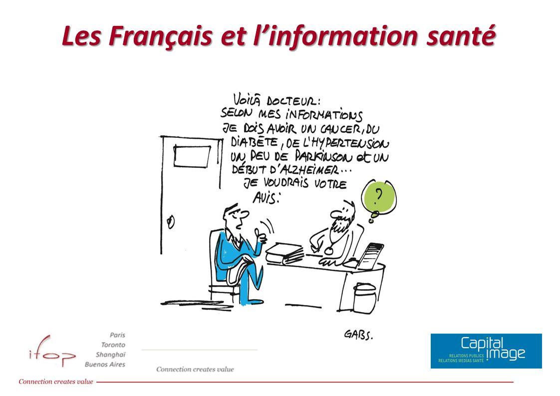 Les Français et l'information santé