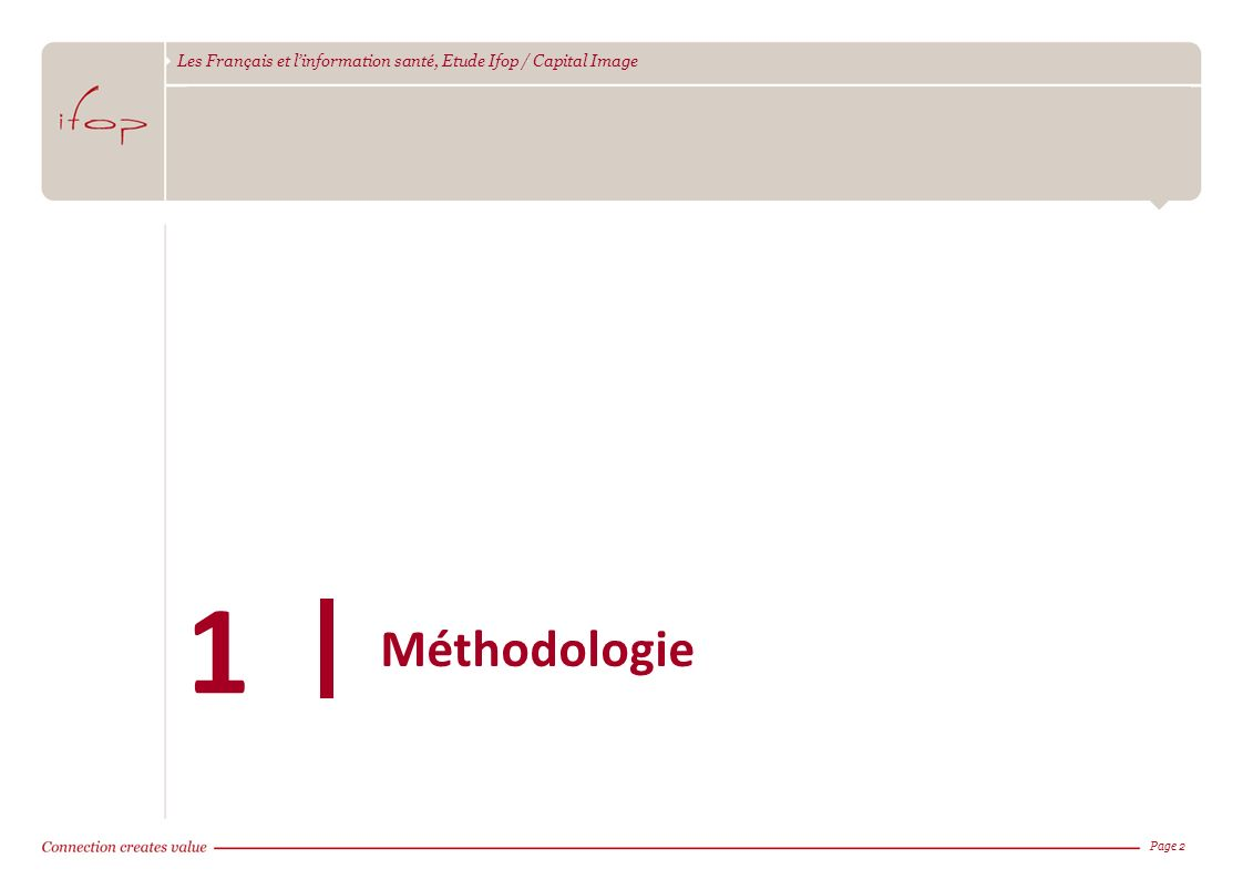 Méthodologie 1