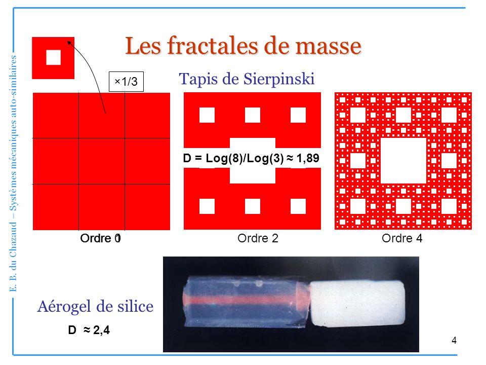 Les fractales de masse Tapis de Sierpinski Aérogel de silice ×1/3