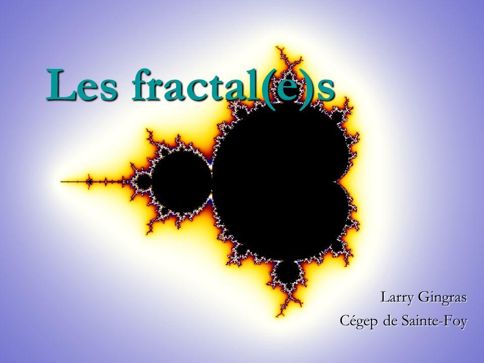 Les fractal(e)s Larry Gingras Cégep de Sainte-Foy