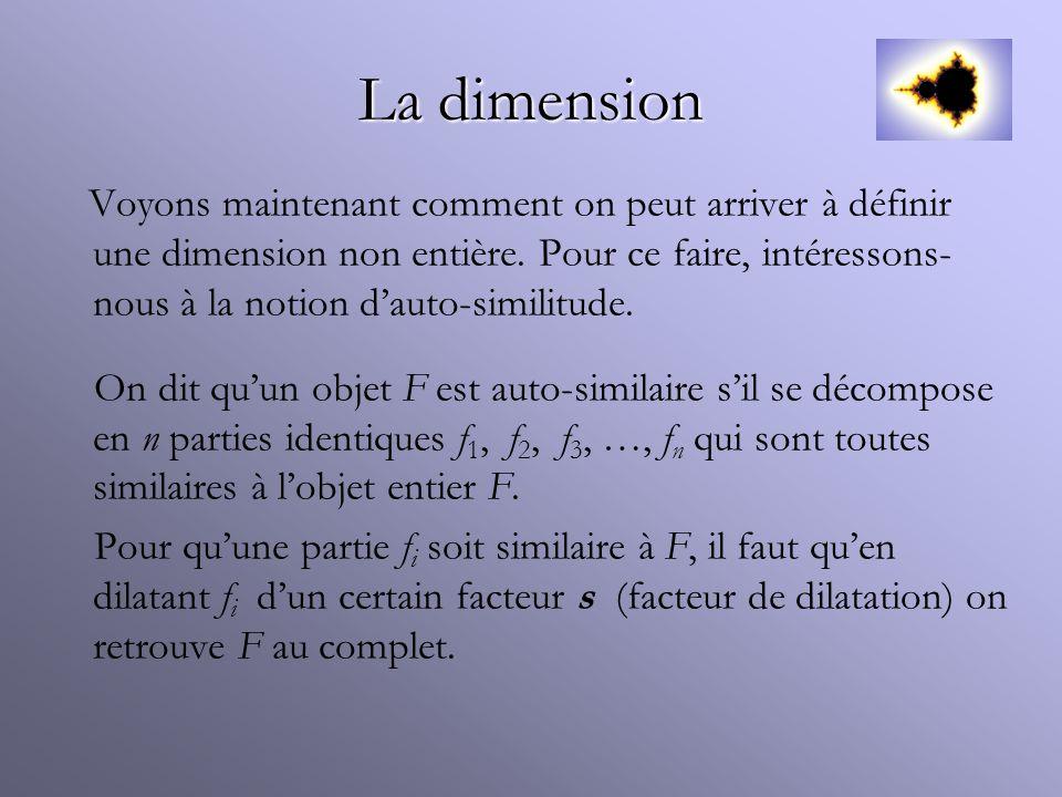 La dimension