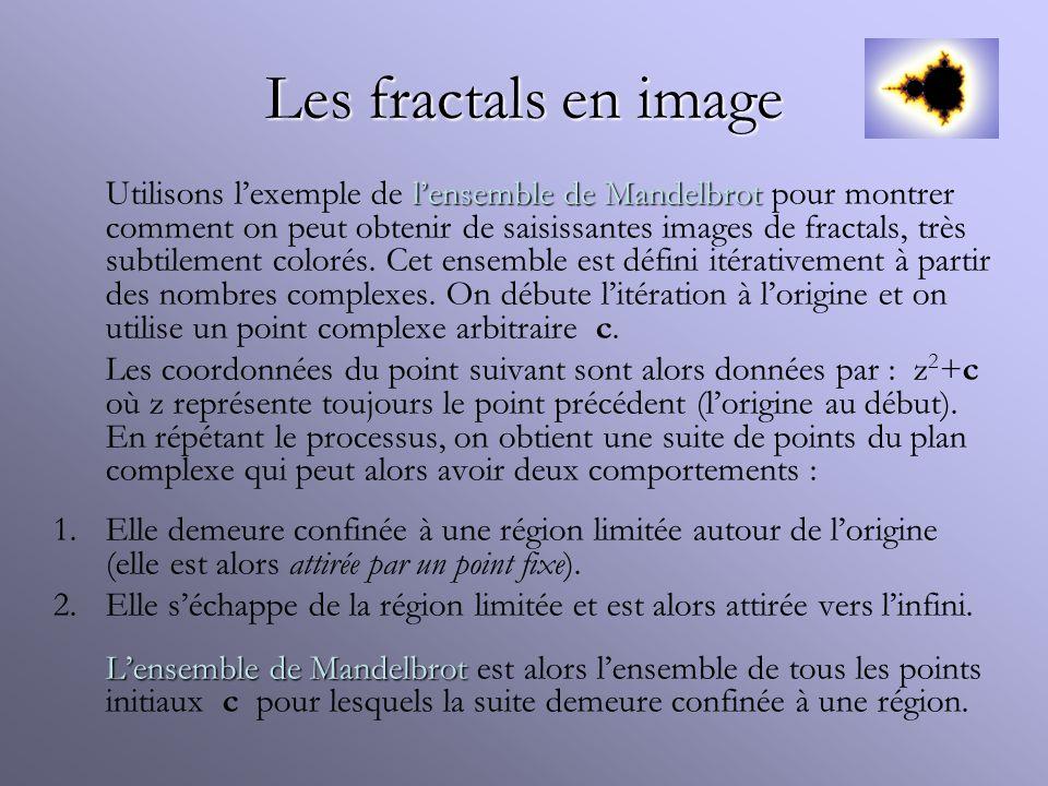 Les fractals en image