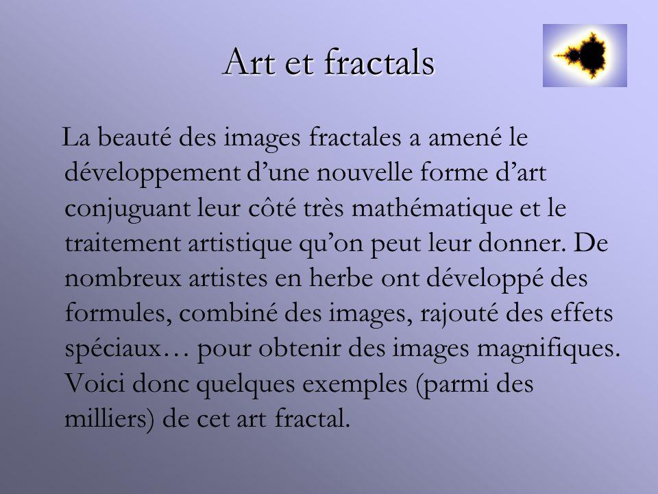 Art et fractals