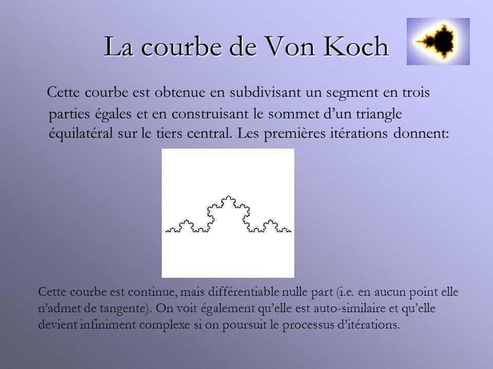 La courbe de Von Koch