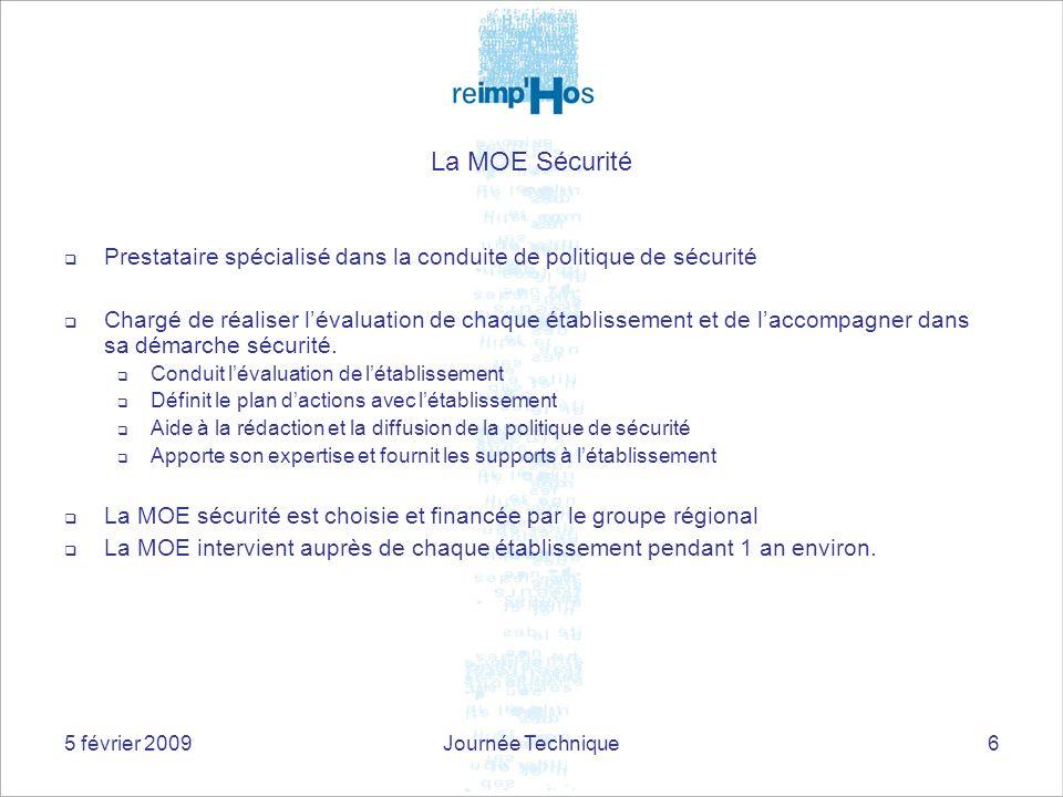 La MOE Sécurité Prestataire spécialisé dans la conduite de politique de sécurité.