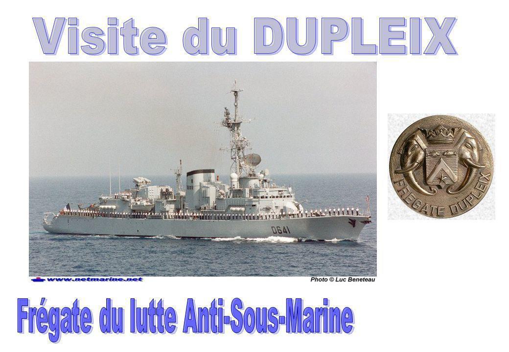 Frégate du lutte Anti-Sous-Marine