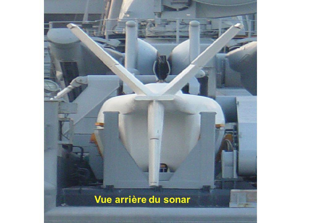 Autre vue du sonar Vue arrière du sonar
