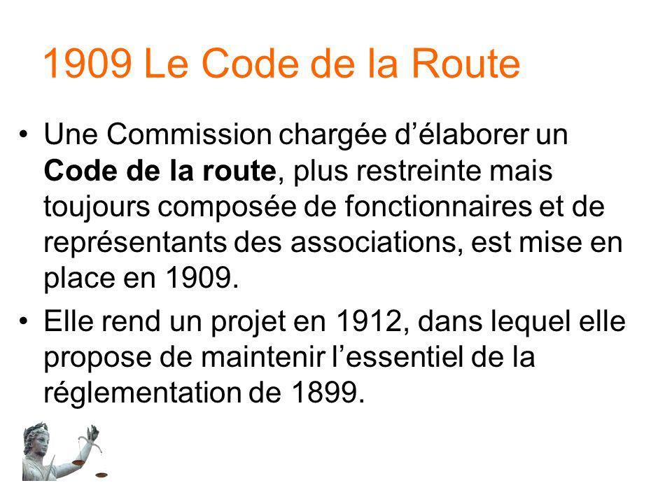 1909 Le Code de la Route