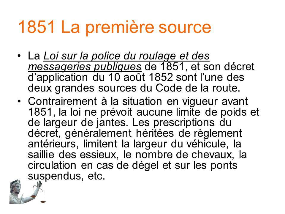 1851 La première source
