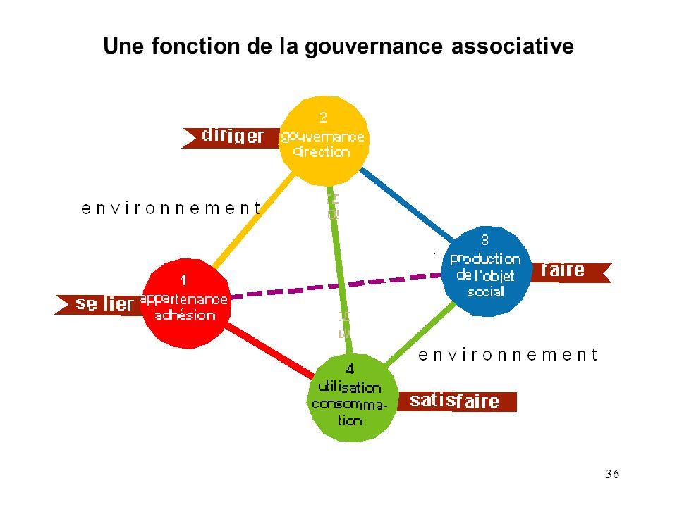 Une fonction de la gouvernance associative