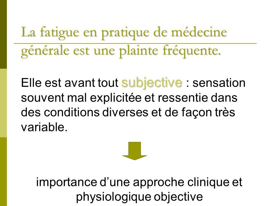 importance d'une approche clinique et physiologique objective