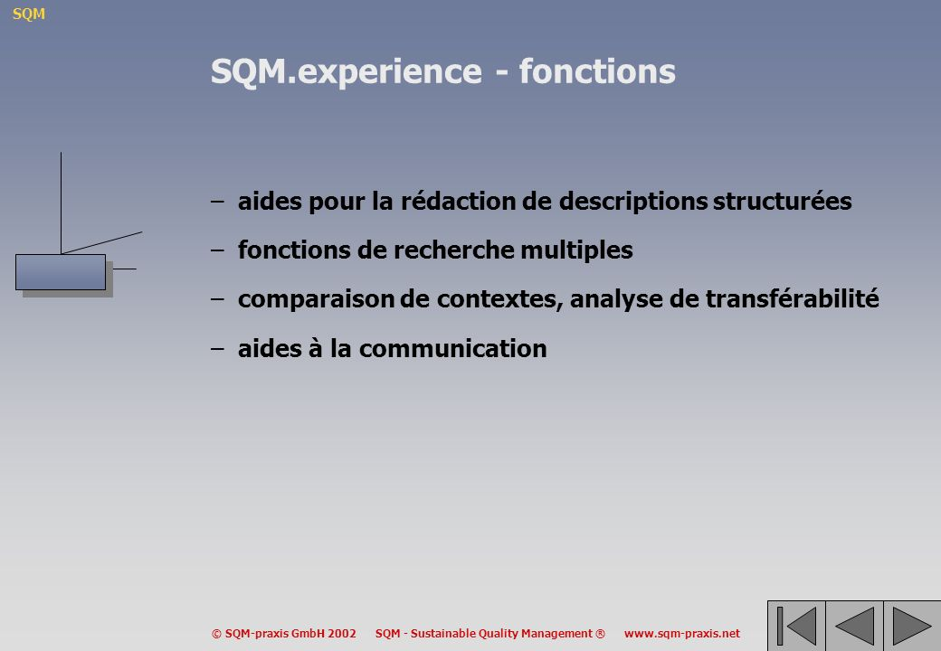 SQM.experience - fonctions