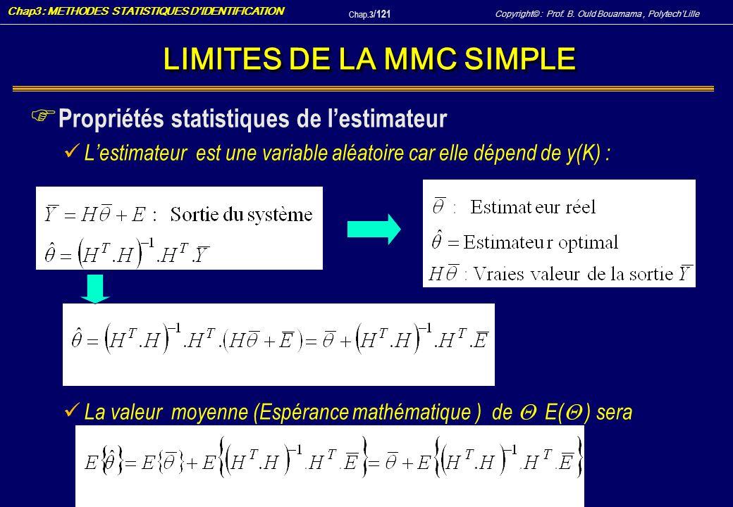 LIMITES DE LA MMC SIMPLE