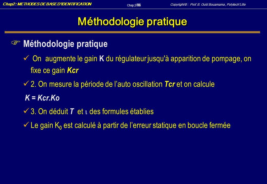 Méthodologie pratique