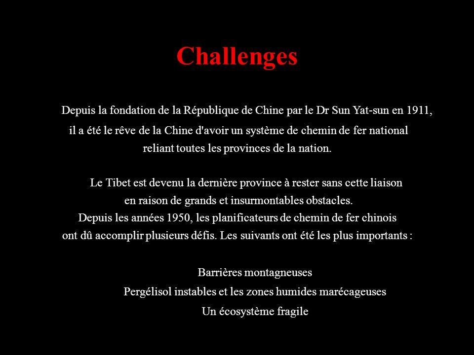 Challenges Depuis la fondation de la République de Chine par le Dr Sun Yat-sun en 1911,