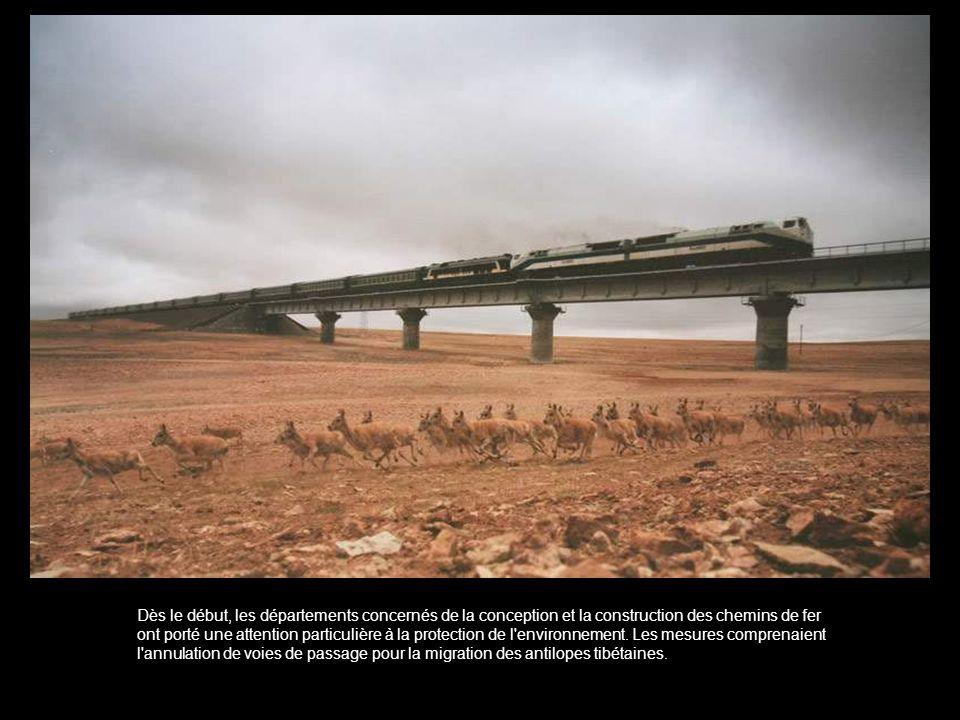 Dès le début, les départements concernés de la conception et la construction des chemins de fer ont porté une attention particulière à la protection de l environnement.