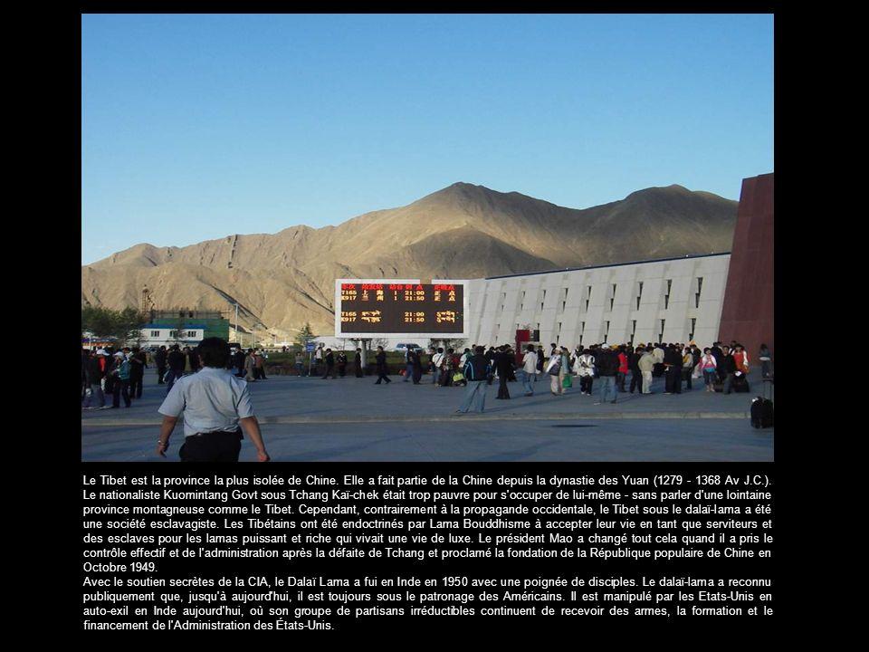 Le Tibet est la province la plus isolée de Chine