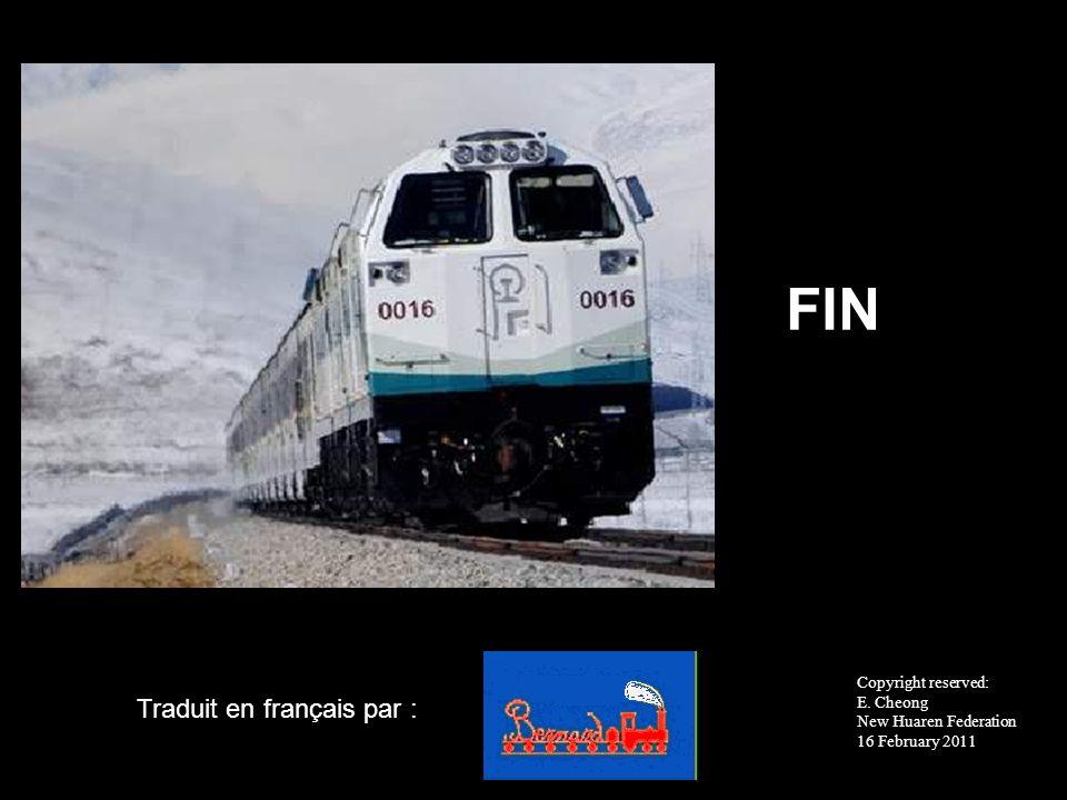 FIN Traduit en français par : Copyright reserved: E. Cheong