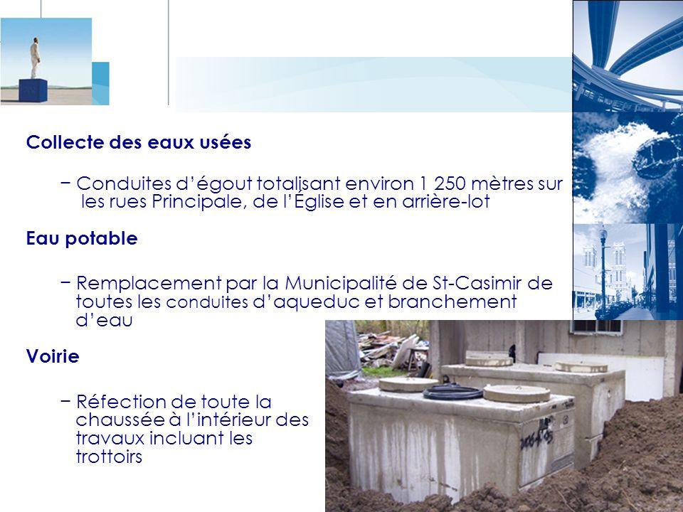 Collecte des eaux usées