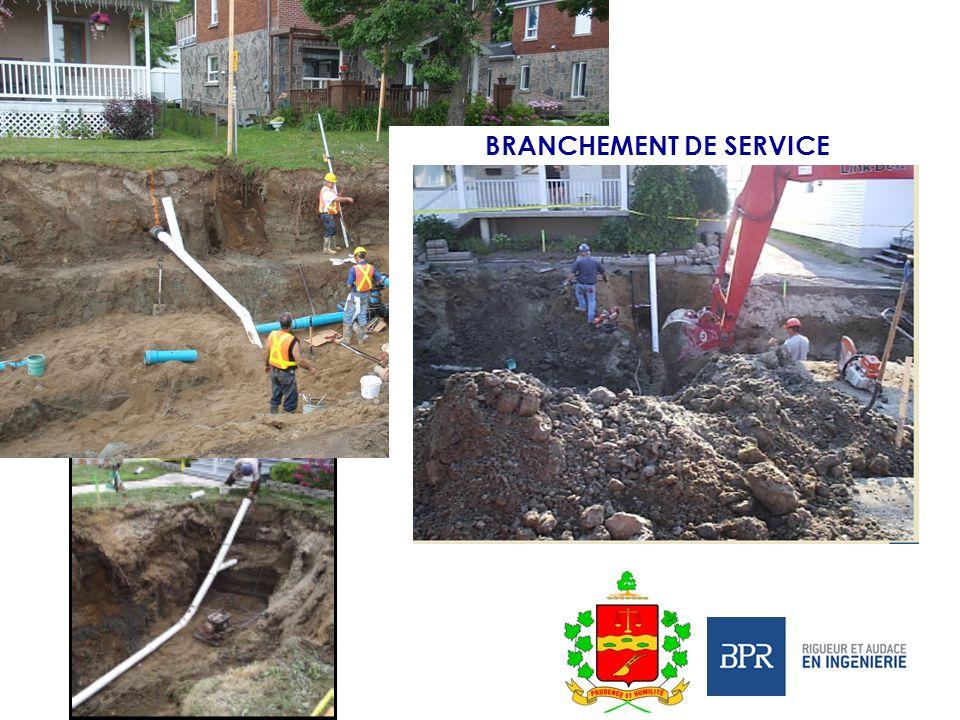 BRANCHEMENT DE SERVICE