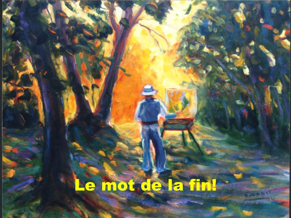 Le mot de la fin! Dre Marie-Luce Quintal et Luc Vigneault - septembre 2006