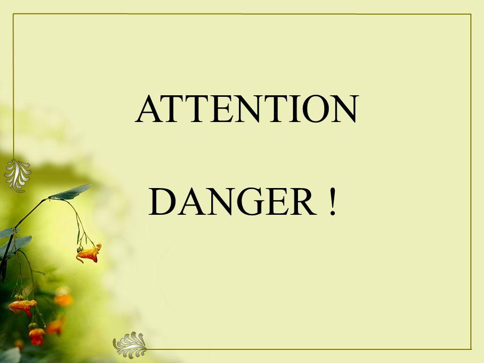 ATTENTION DANGER !
