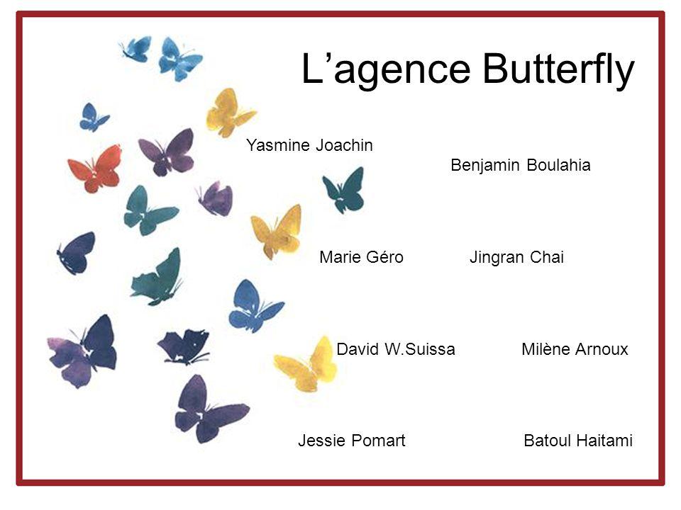 L'agence Butterfly Yasmine Joachin Benjamin Boulahia