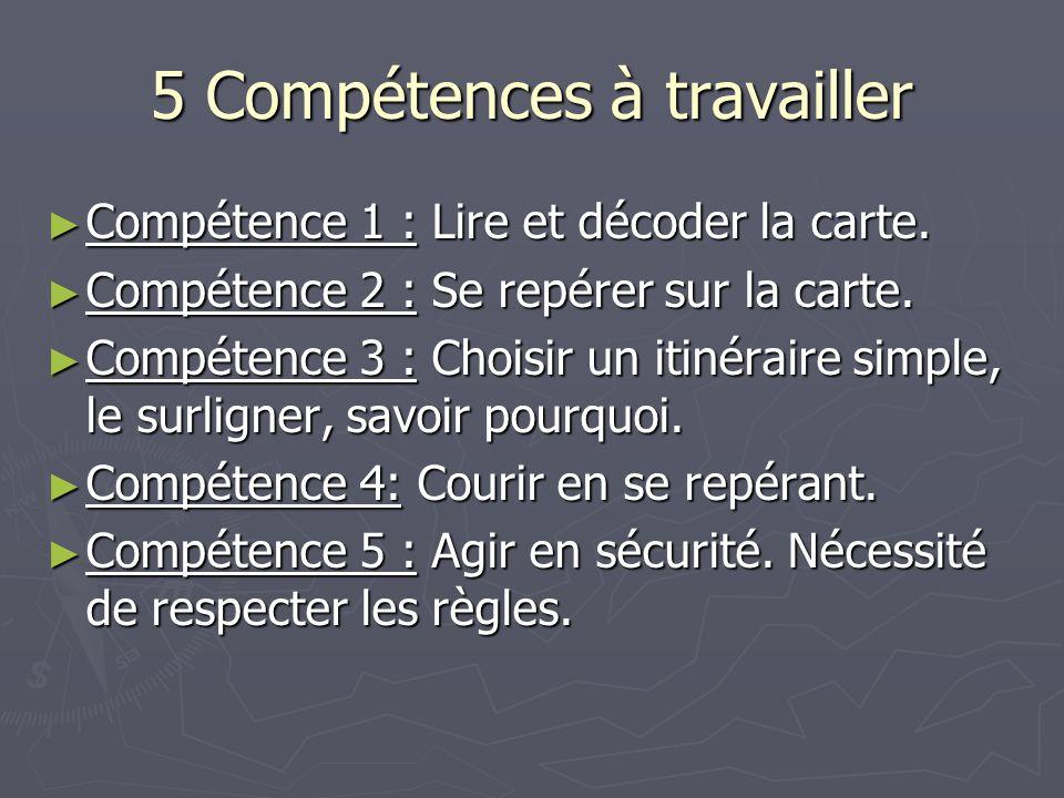 5 Compétences à travailler