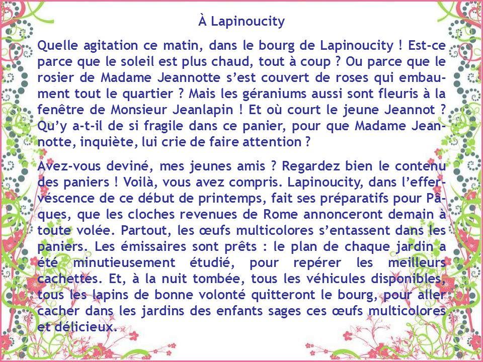 À Lapinoucity