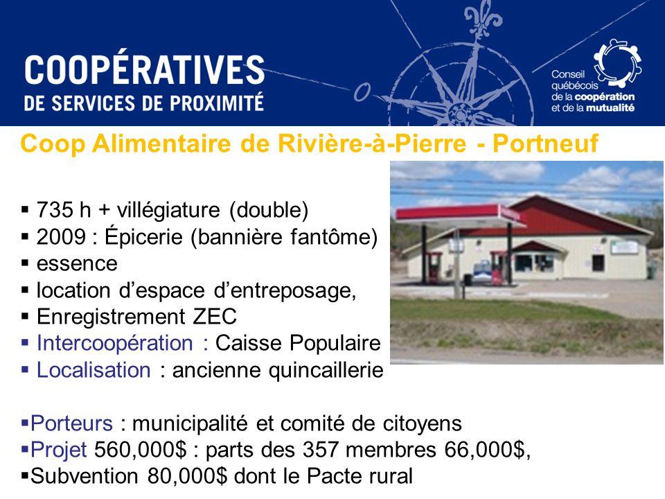 Coop Alimentaire de Rivière-à-Pierre - Portneuf