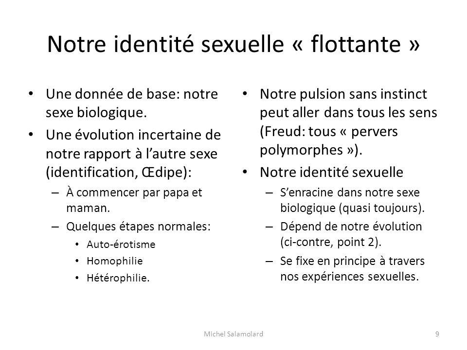 Notre identité sexuelle « flottante »