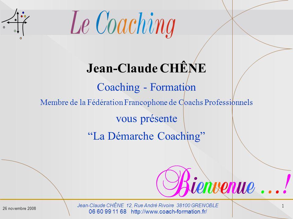 Jean-Claude CHÊNE Coaching - Formation vous présente