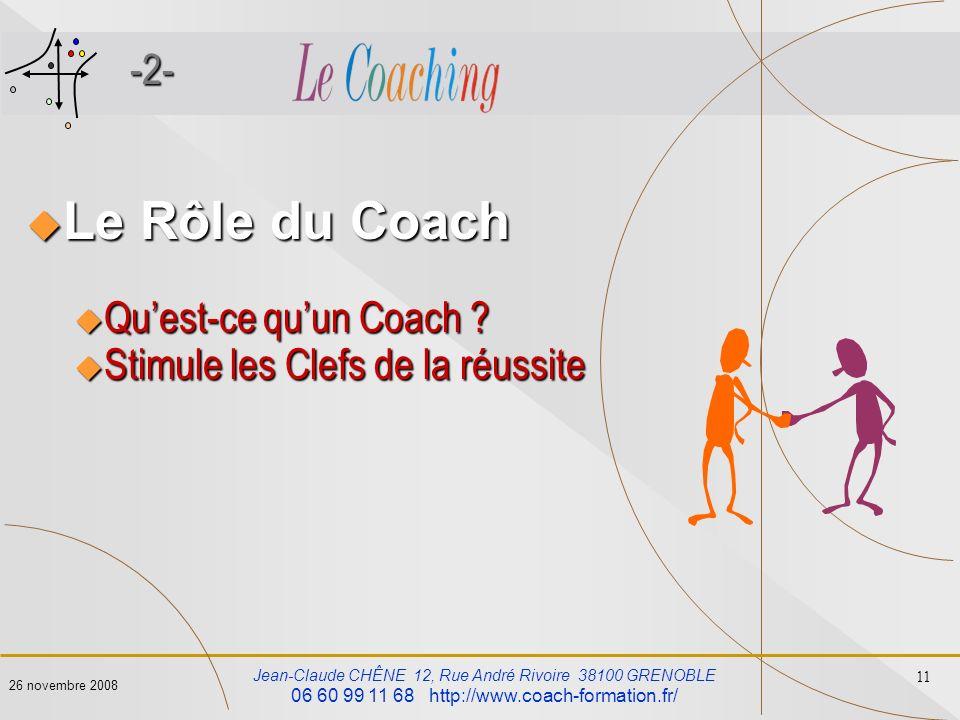 Le Rôle du Coach -2- Qu'est-ce qu'un Coach