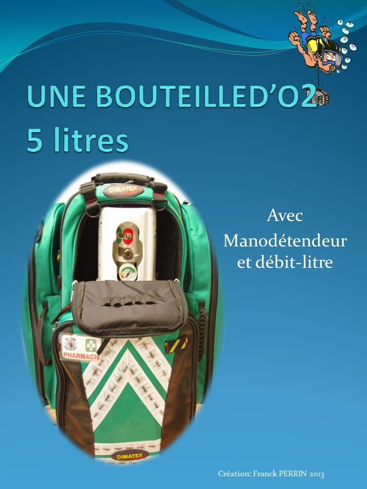 UNE BOUTEILLED'O2 5 litres